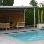 Strak design zwembad