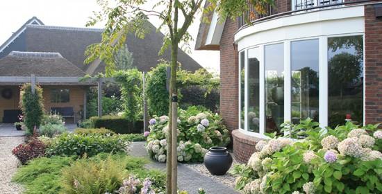 Villatuin in Arnhem voor tuinliefhebbers