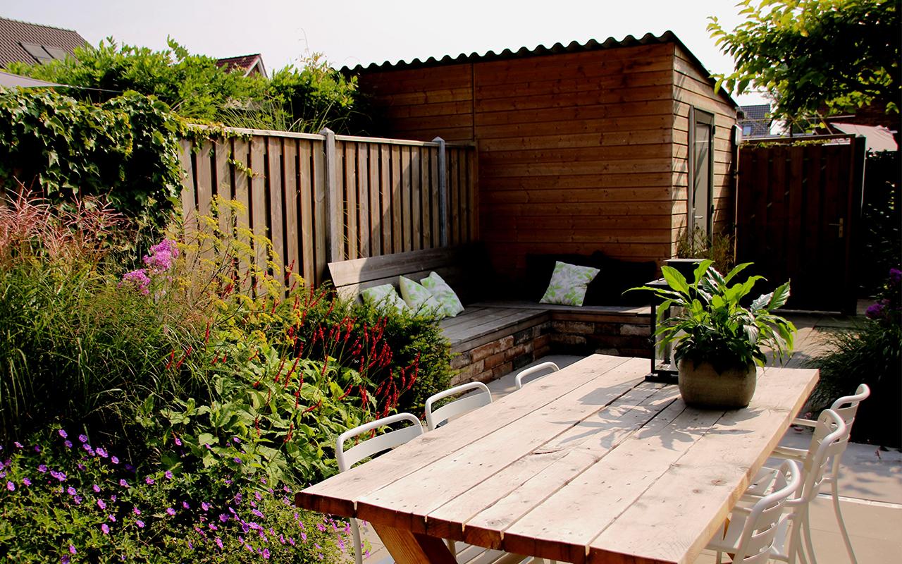 Ontwerp Kleine Tuin : Tuinontwerp voor een kleine tuin tips tuinontwerpbureau ineke